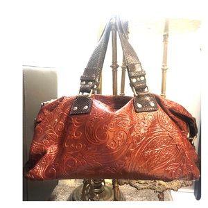 ETRO Paisley Embossed Bag